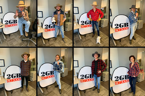 Article image for POLL | Who's the best dressed farmer on Ben Fordham's team?