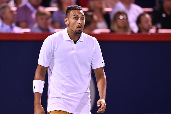 Article image for 'Absolute tool' Nick Kyrgios has another major outburst