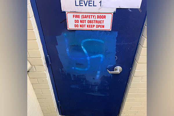 Article image for Anti-Semitic graffiti discovered in Sydney RSL