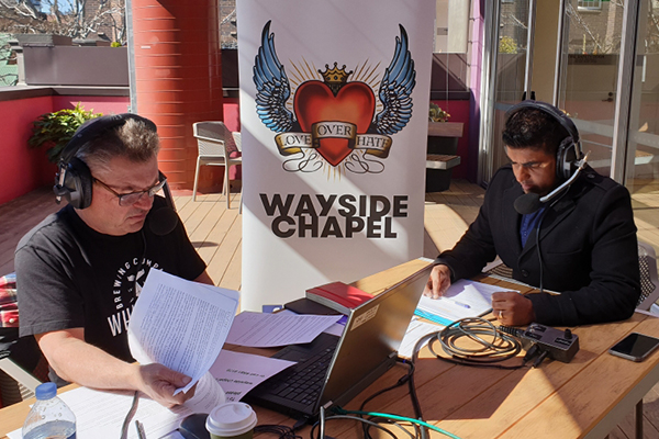 Article image for 'Loving the homeless back to life': Steve Price broadcasts live from Wayside Chapel
