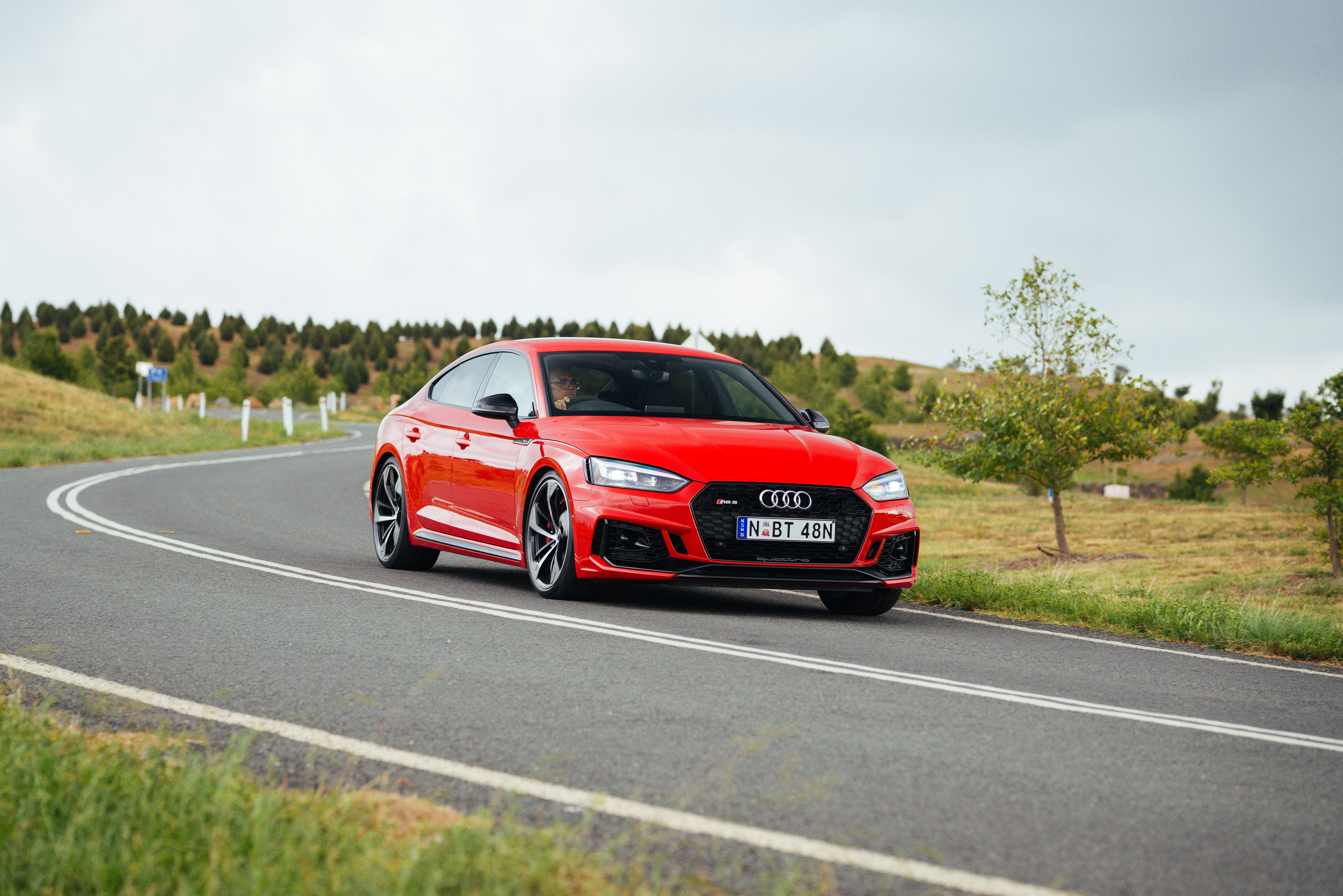Audi's RS-5 Sportback – five doors makes this a most attractive and practical GT car
