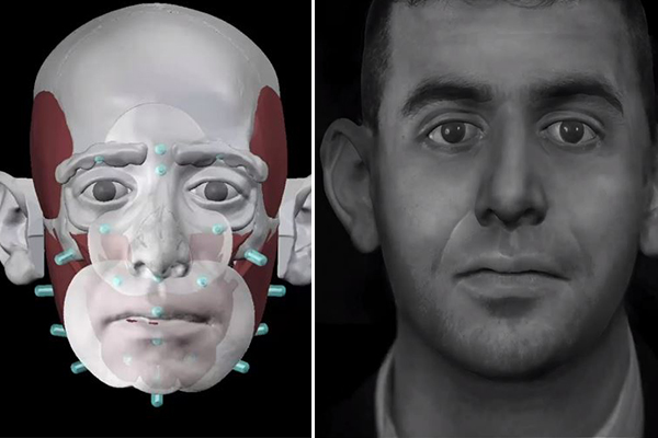 Face of 40-year-old skull finally revealed