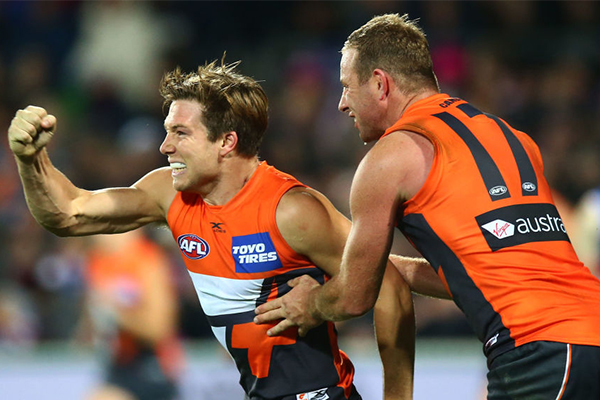 Article image for 'Extremely excited': GWS Giants gear up for first ever Grand Final