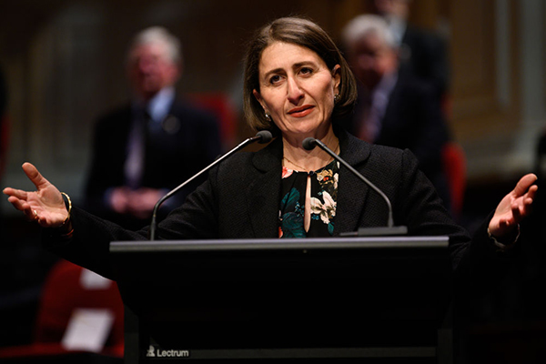 Article image for Senior Liberals back Gladys as rogue MPs call for leadership spill
