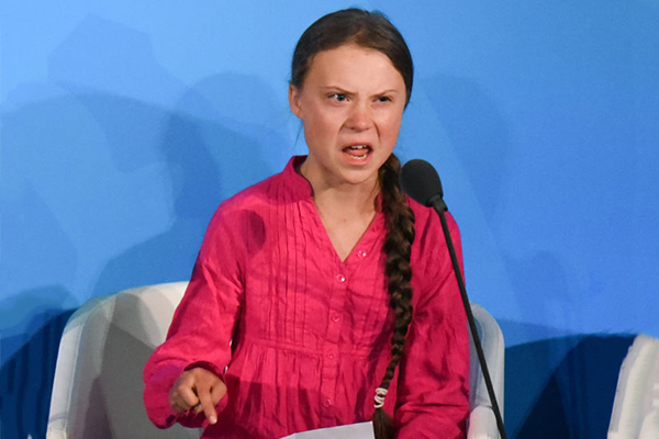 Article image for 'How dare you!': Greta Thunberg attacks world leaders at climate conference