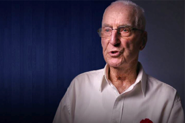 Article image for World War II veteran's message to Australians this ANZAC Day