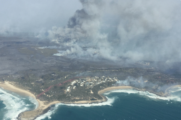 Bushfire threat far from over despite easing conditions