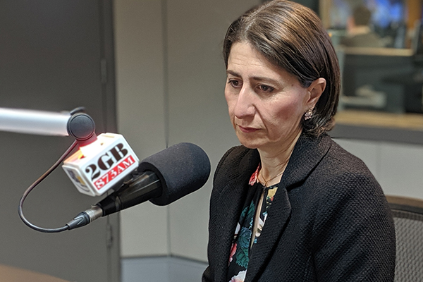 Sidoti, abortion, lockout laws: Premier Berejiklian addresses the big issues facing her government