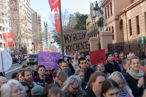Article image for Gender selection abortion amendment passes parliament