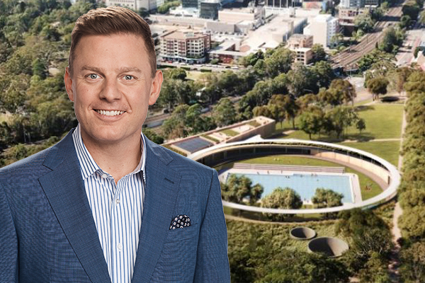 Sports Minister personally thanks Ben Fordham for his role in new Parramatta pool