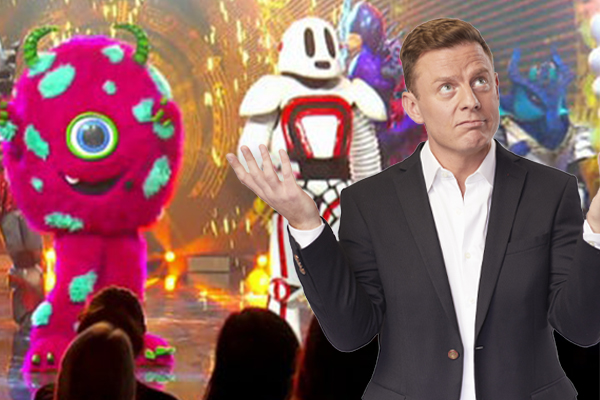 Ben Fordham pitches his 'Masked Singer' predictions to Jackie O