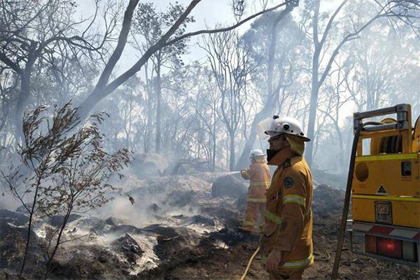 Article image for 'It feels like Armageddon': Farmer's heartbreaking story as bushfire destroys homes