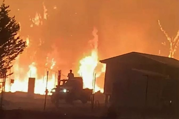'This is a national disaster!': Bushfires raging across NSW and QLD
