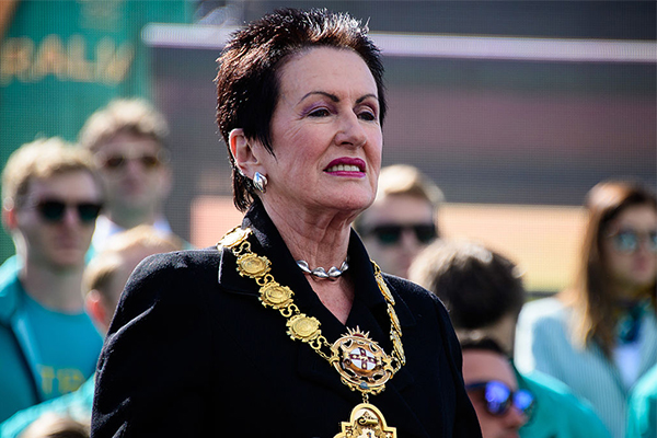 Clover Moore to retire mayoral chains after 'racist' symbol discovered