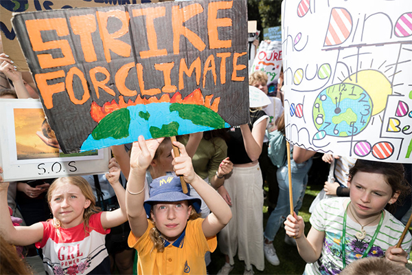 Child anxiety 'through the roof' due to climate change