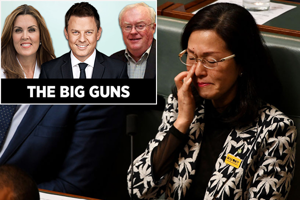 Article image for Raising concerns about Gladys Liu isn't racist: The Big Guns
