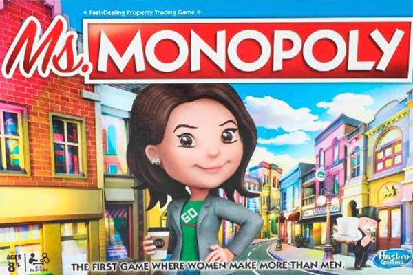 Monopoly gives women more money than men