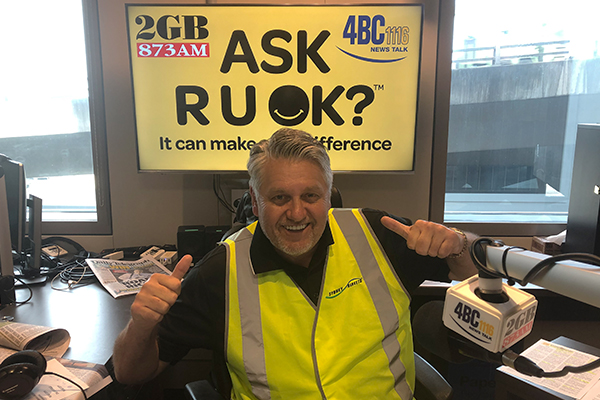 Ray Hadley's moving message to his listeners for R U OK? day