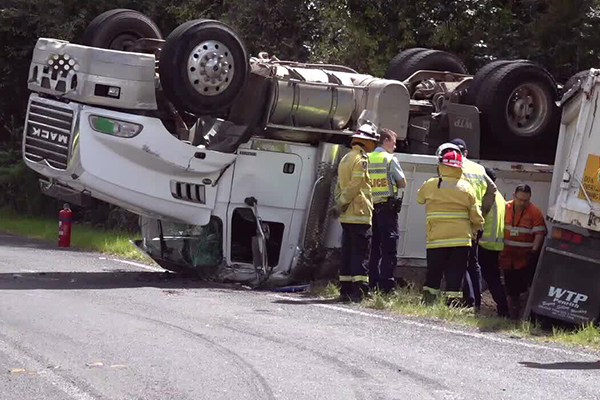 Article image for Spate of serious truck accidents across NSW