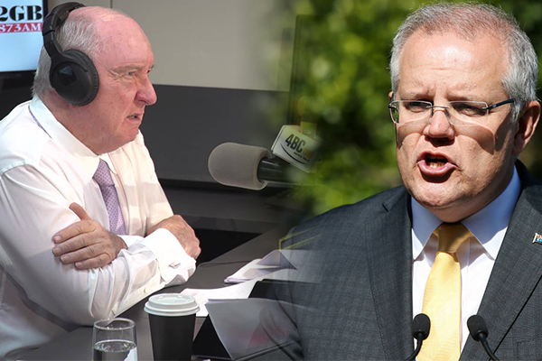 Article image for Alan Jones wants Scott Morrison to take a leaf out of Malcolm Fraser's book