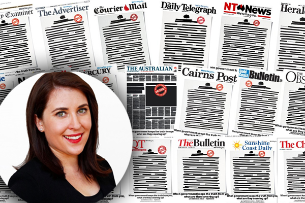 The journalist who sparked the media's nationwide campaign against the government