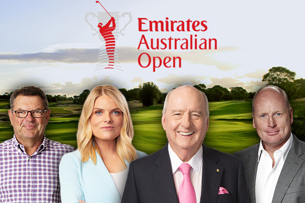 Come and join 2GB at the Australian Open