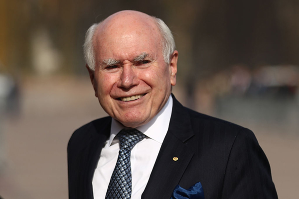 John Howard warns of 'doom and disaster' on 75th anniversary of the Liberal Party