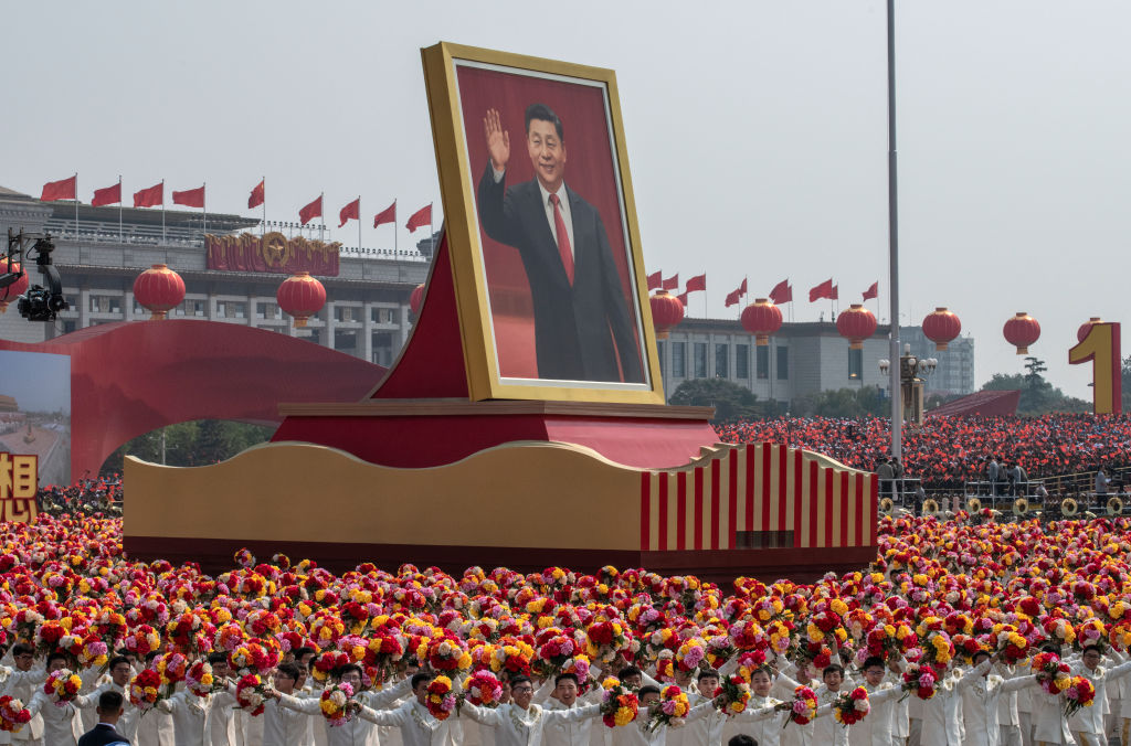 Article image for Hong Kong protests continue as Beijing celebrates
