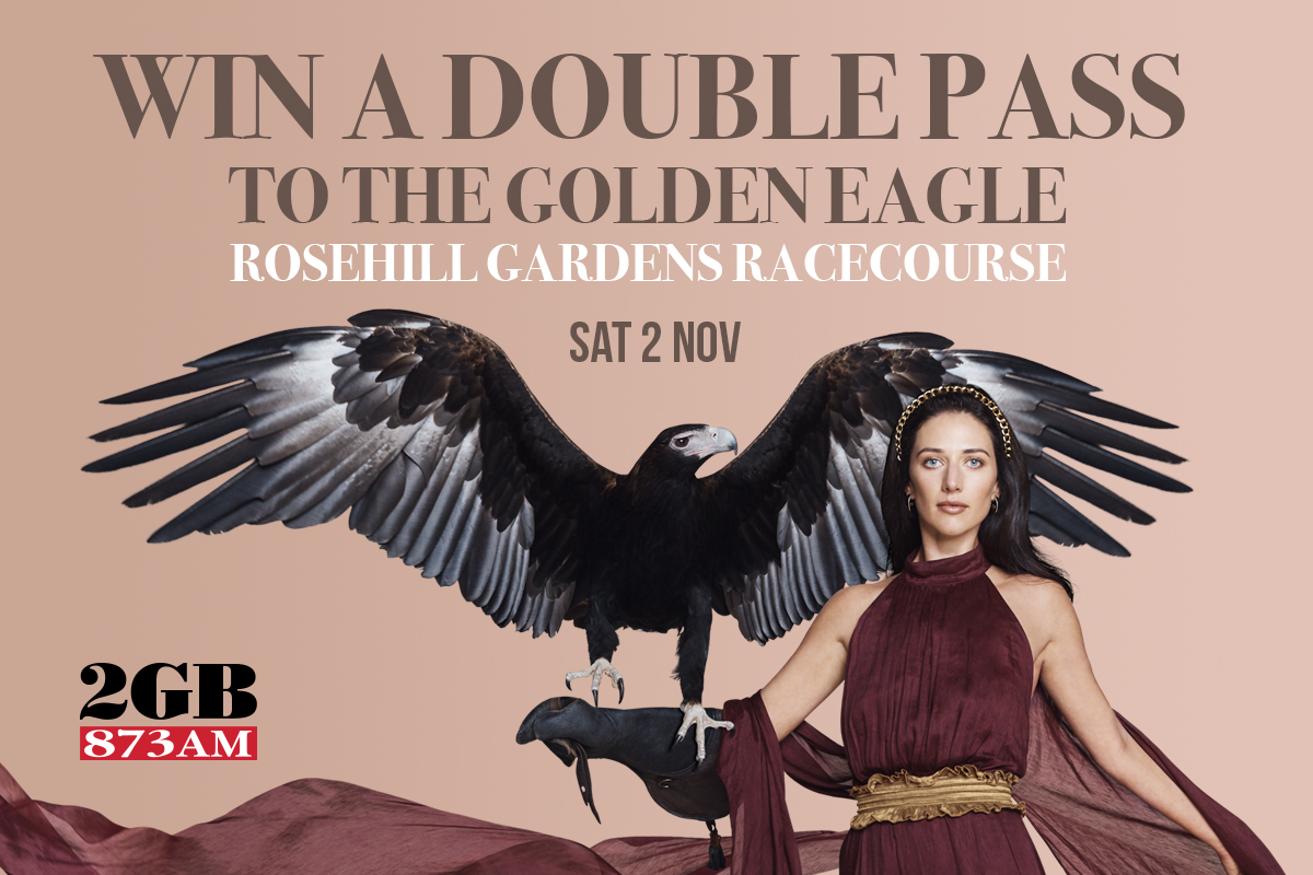 Win a double pass to The Golden Eagle
