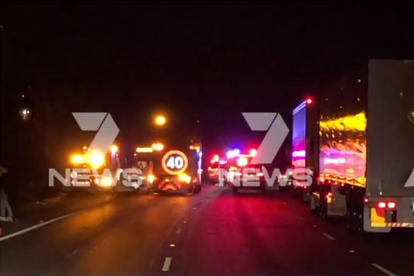 Article image for Major incident shuts the M1 motorway, causing traffic chaos
