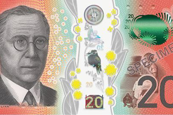 Article image for New $20 note launches