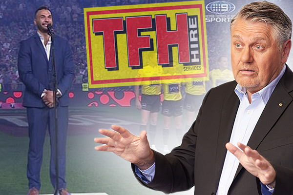 Article image for 'Wake up to yourselves': Ray Hadley calls out NRL sponsor's low act against Ryan James