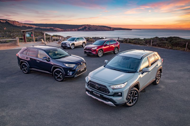 Toyota's larger RAV4 with hybrid drive-train has quickly sold into short supply
