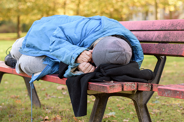Article image for Homelessness on the rise among baby boomers