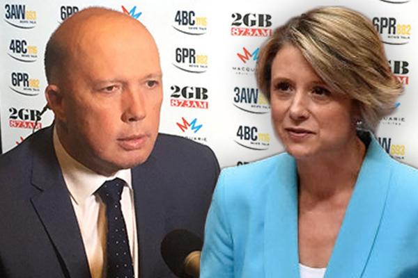 Peter Dutton calls Kristina Keneally his second 'Alan Bond'