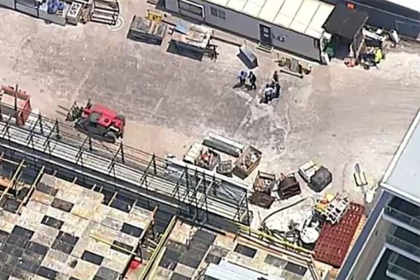 Man stabbed multiple times at Sydney construction site
