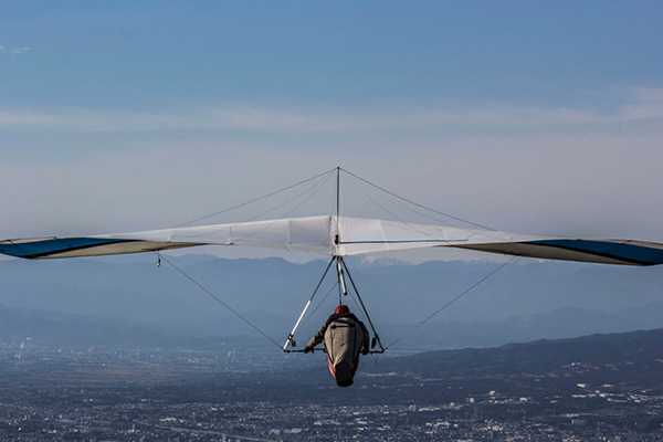 Article image for Hang glider fighting for life after crashing near Mudgee