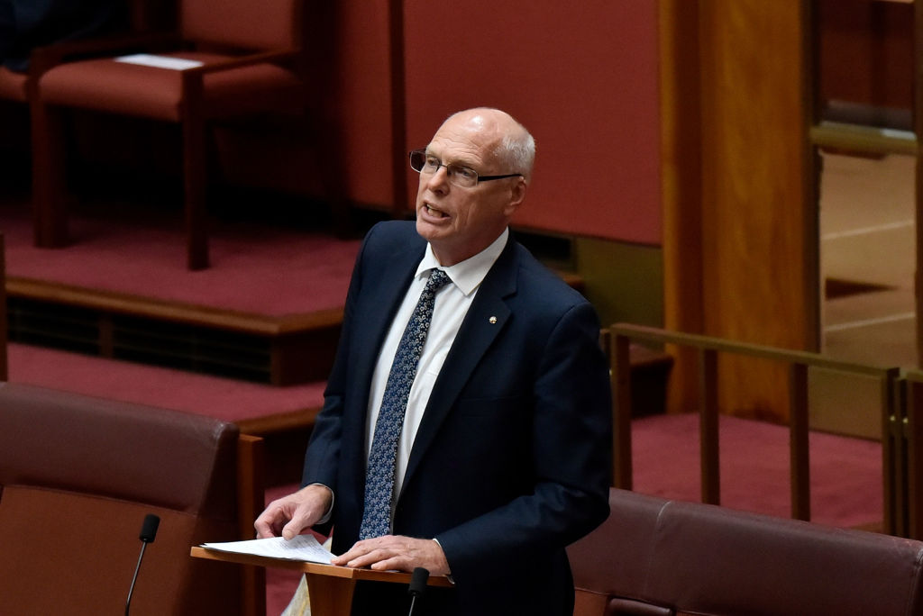 Retd Major General Jim Molan returns to the Senate
