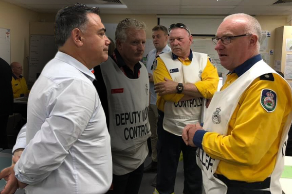 Article image for 'We don't do enough': Deputy Premier admits government's failed bushfire prevention