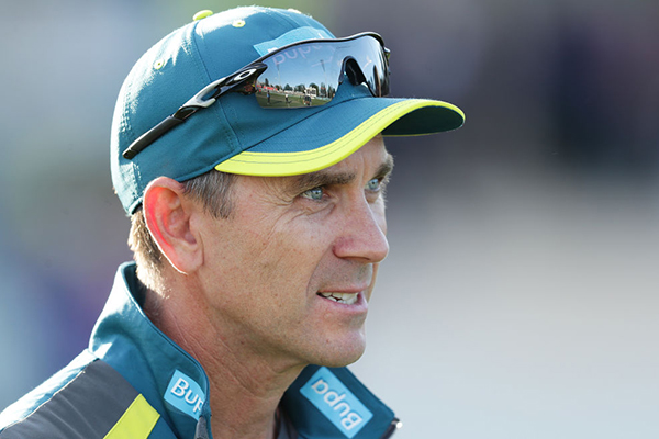 Justin Langer backs star bowler accused of homophobic slur