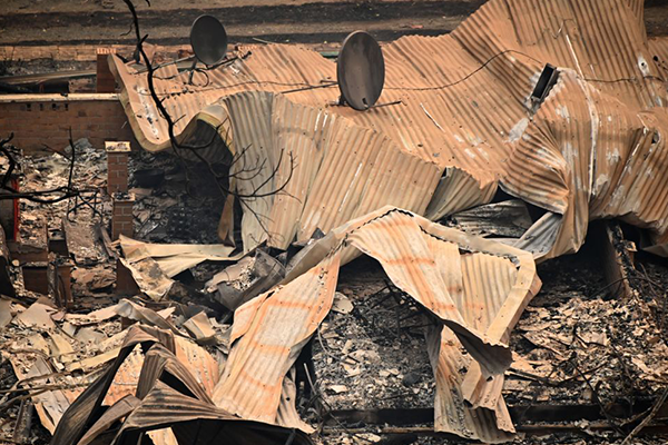 Article image for Insurance claims begin to flood in from areas devastated by bushfire