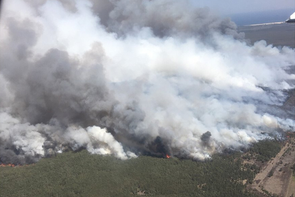 Residents told it's too late to leave as bushfires escalate
