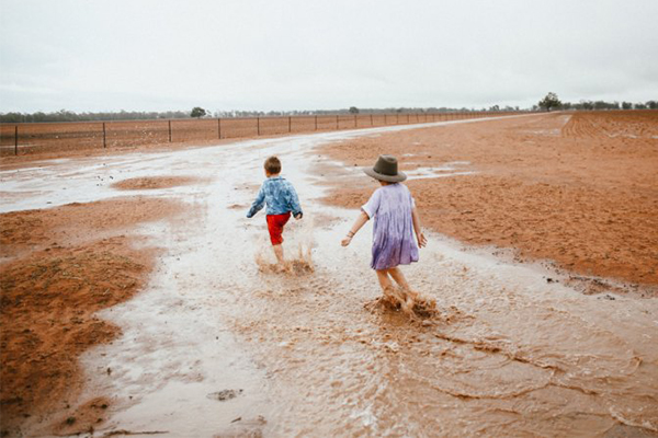 Farmers rejoicing as much-needed rain hits parts of NSW and QLD