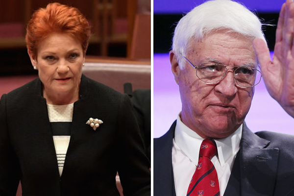How the government should deal with drought: Pauline Hanson and Bob Katter