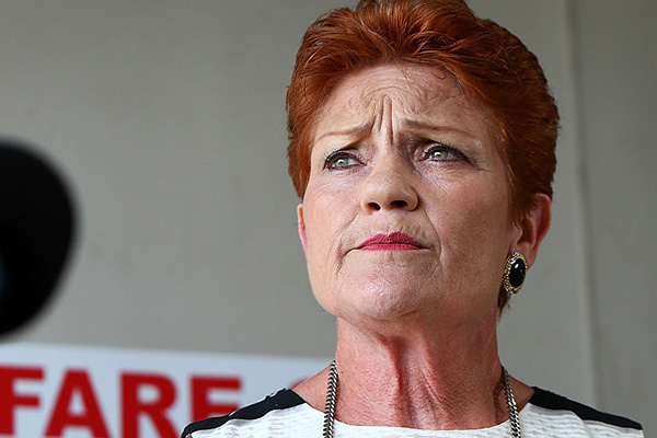 Article image for 'So much hypocrisy': Pauline Hanson defends snub of union-busting bill