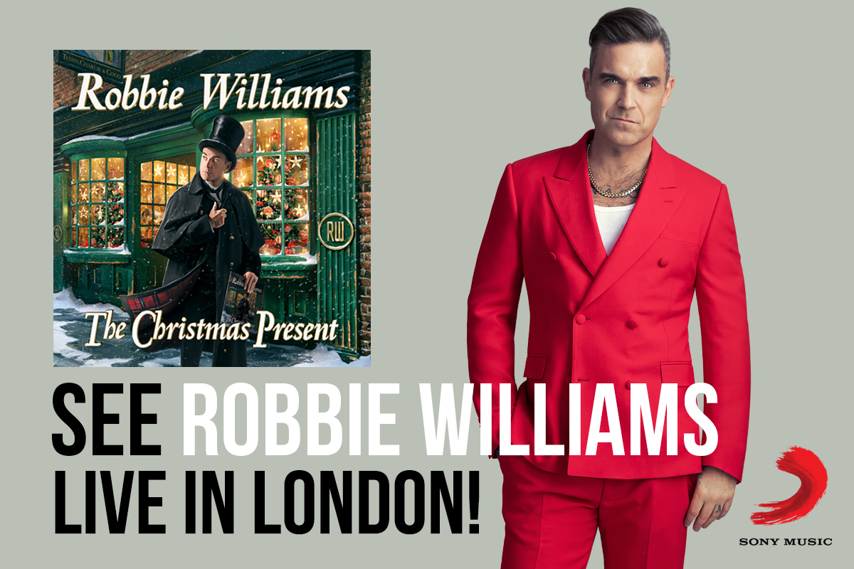 2GB gives you Robbie Williams for Christmas!