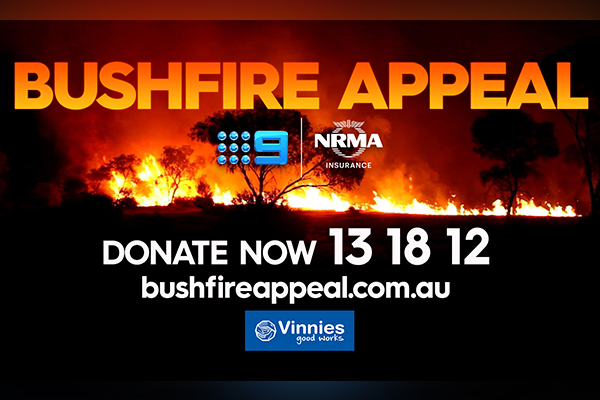Donate to those in need via the Bushfire Appeal