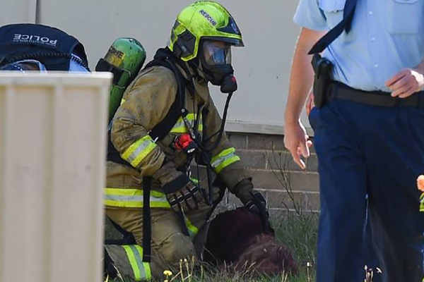 Article image for Teens accused of attempted murder after injured girl pulled from burning building