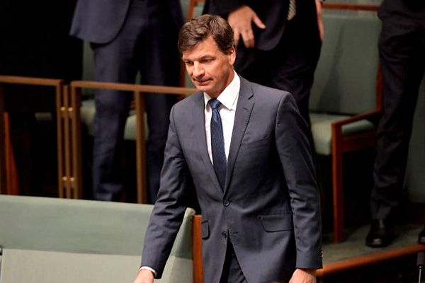Article image for Opposition says Angus Taylor should stand down amid investigation