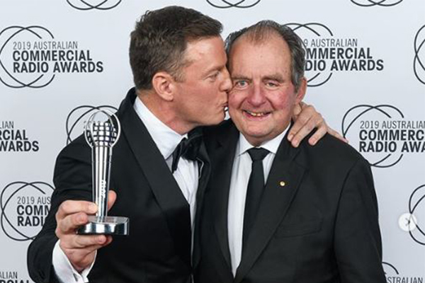 Article image for Ben Fordham's heart-warming tribute to his father John